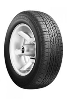 Pneus Toyo 235/60 R16 100H Tranpath A 11 Toyota RAV 4 • Efficacité énergétique : E • Classe d'adhérence sur route mouillée : E • Classe de bruit de roulement : 2 • Bruit de roulement extérieur : 70 • Catégorie de pneus : C1